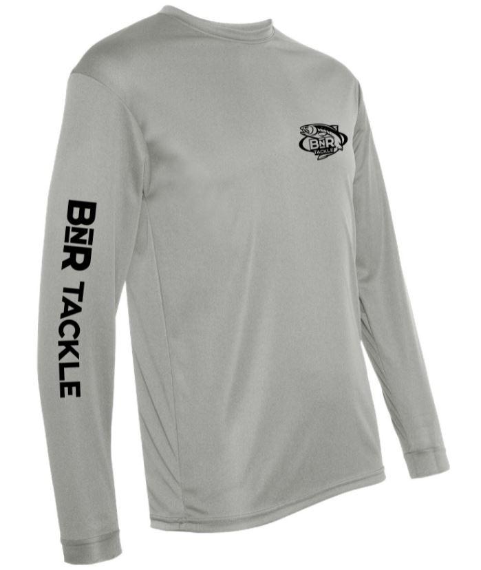BnR Tackle Long Sleeve Tee – Silver