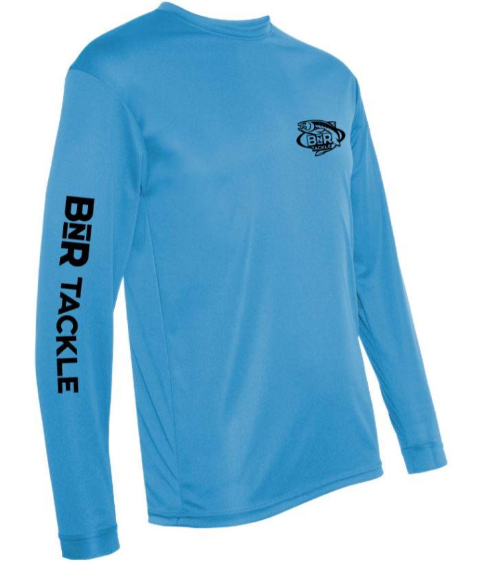 BnR Tackle Long Sleeve Tee – Blue